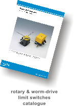 rotary & worm-drive limit switches  catalogue